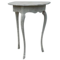 Single Demi Lune table