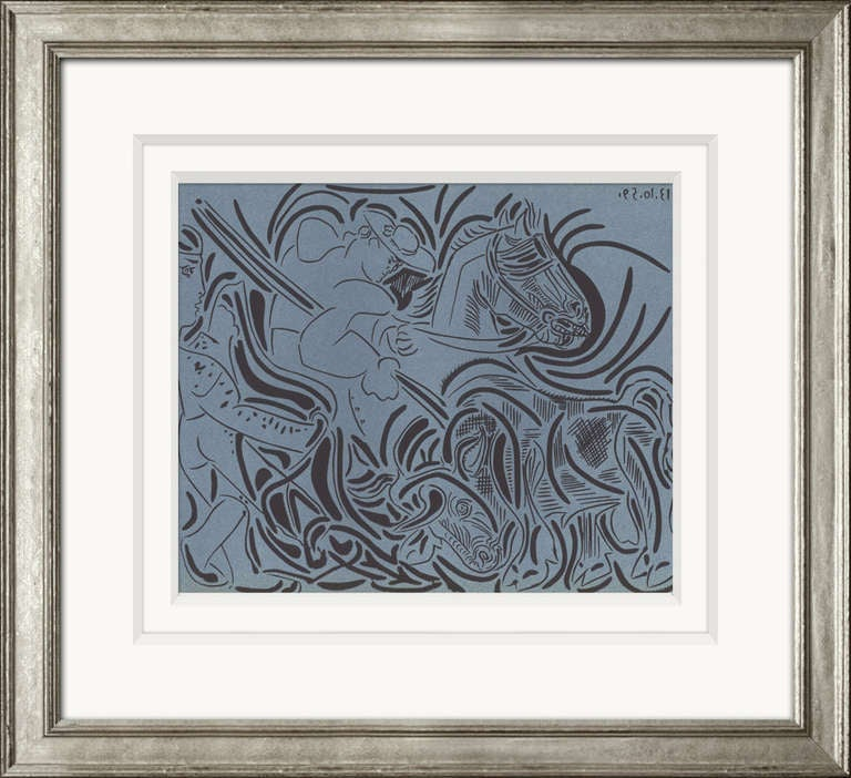 Reproductions of Picasso's 1962 Linocuts 2