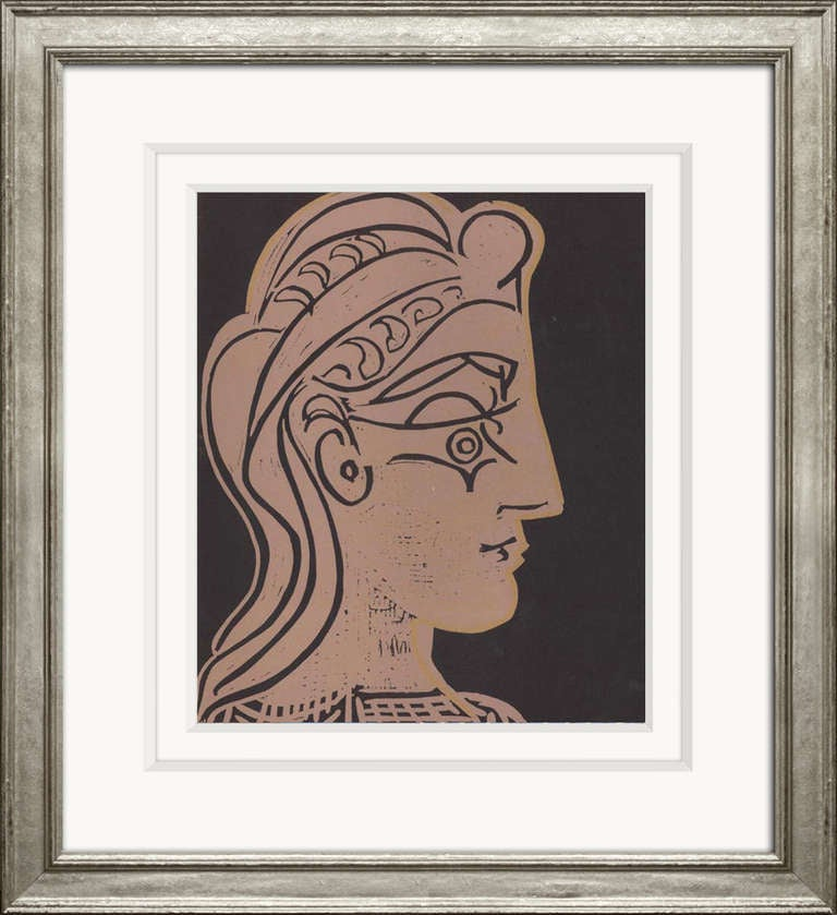 Reproductions of Picasso's 1962 Linocuts 4