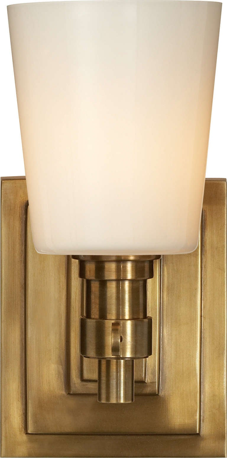 single light bathroom wall sconce single bath sconce for at 1stdibs 24119