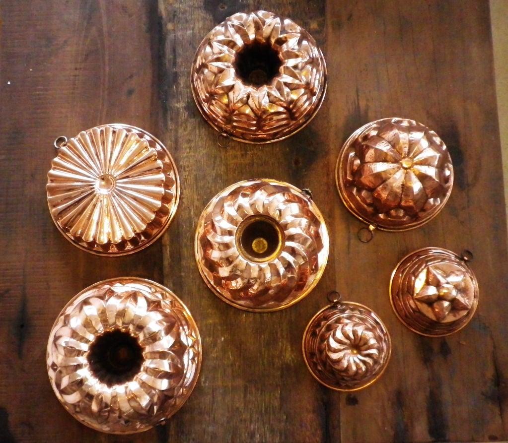 English Copper Moulds 2