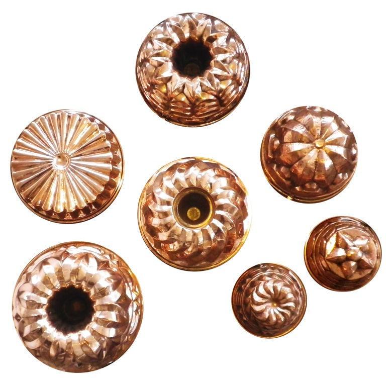 English Copper Moulds 1