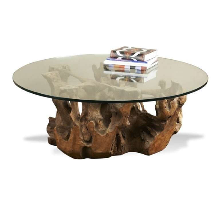Root End Table: Teak Root Coffee Table For Sale At 1stdibs