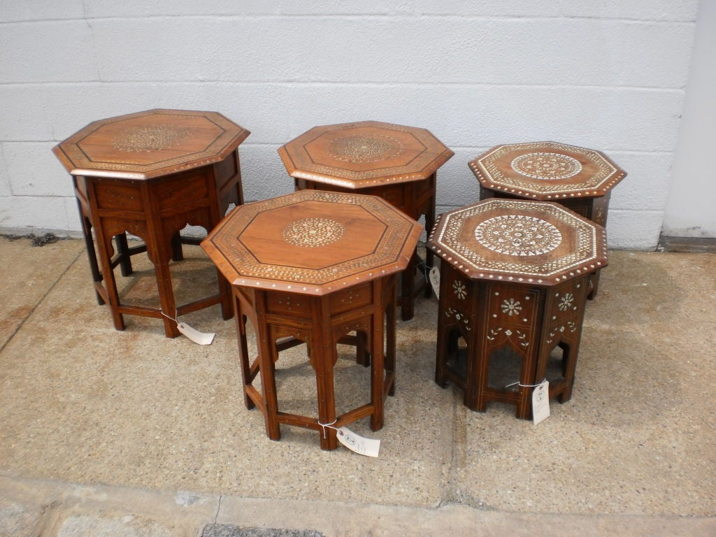 Kashmiri Side Tables image 2
