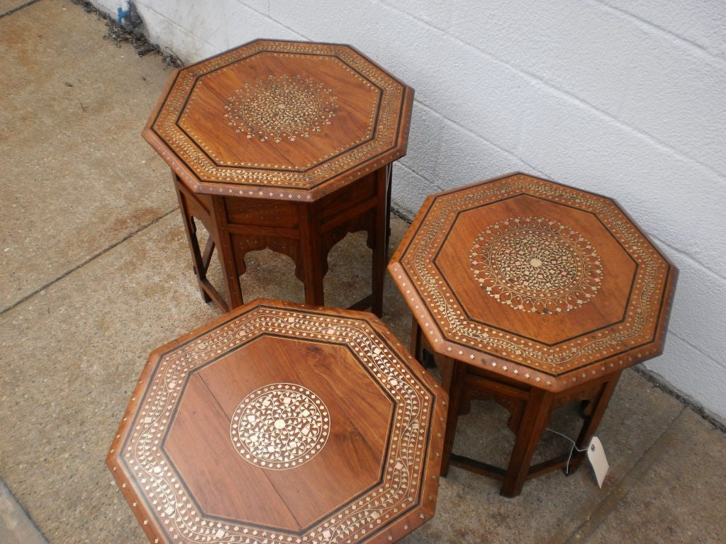 Kashmiri Side Tables image 7