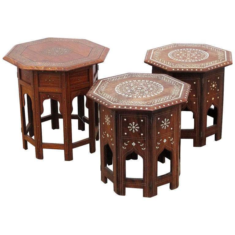 Kashmiri Side Tables