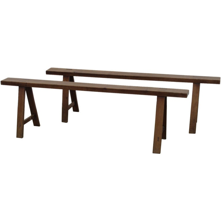 Narrow French Benches At 1stdibs