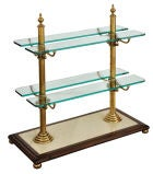 Glass Serving stand