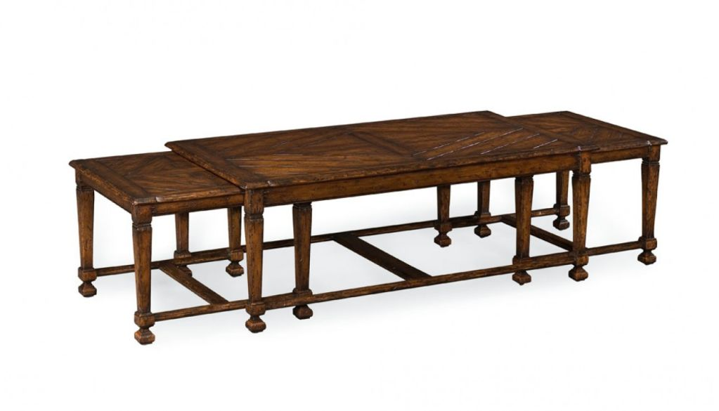 Nesting coffee table for sale at stdibs
