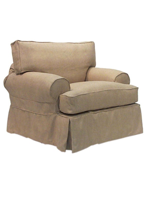 Comfy oversized chair for sale at 1stdibs for Comfy couches for sale