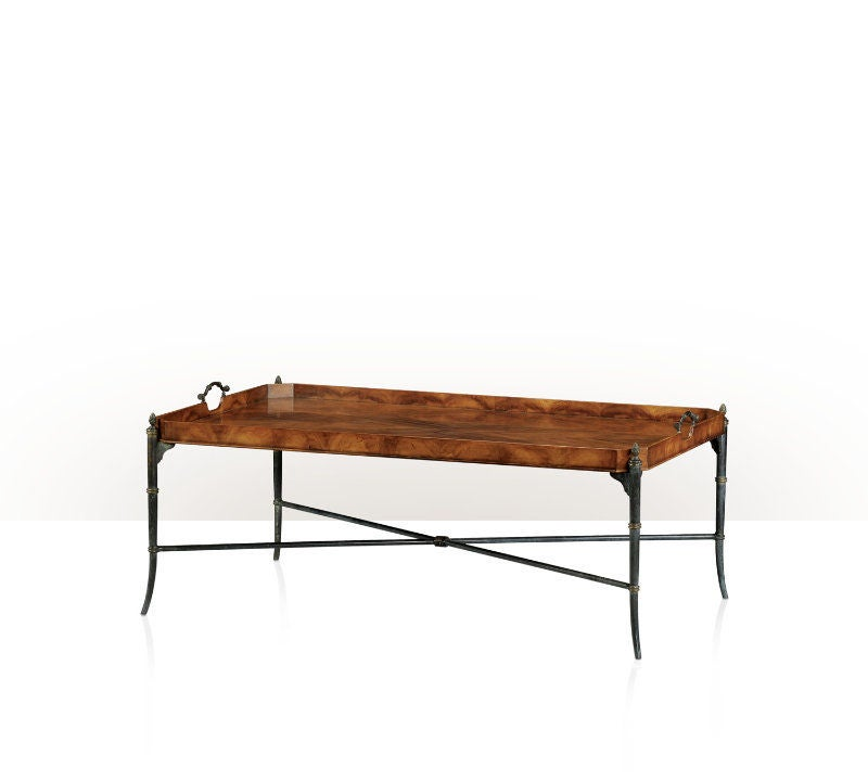 Tray Top Coffee Table At 1stdibs