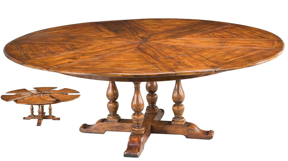 Collapsible Walnut Dining Table At 1stdibs