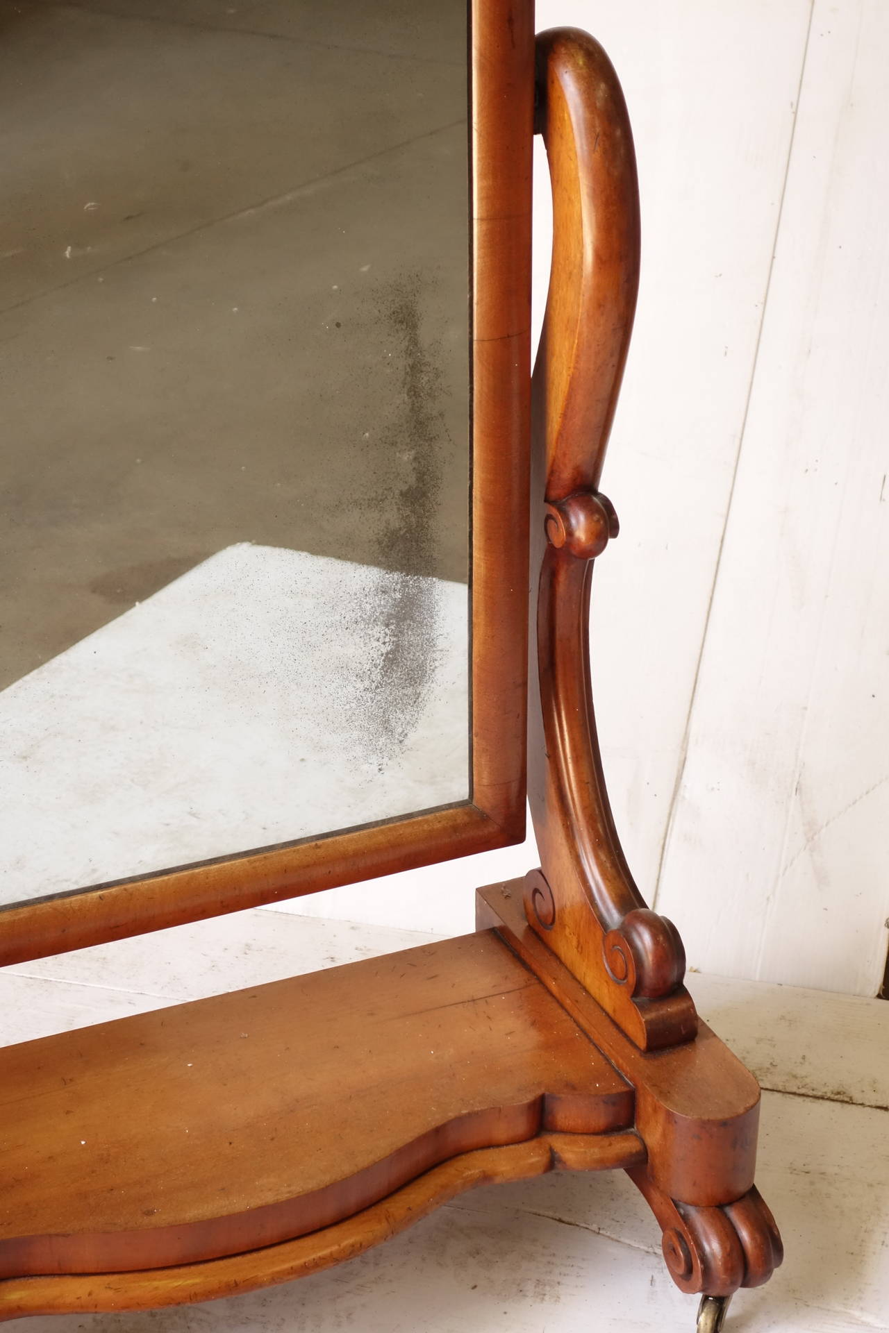 Victorian Floor Mirror For Sale - The Ground Beneath Her Feet