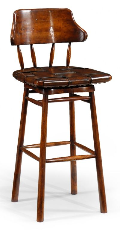 Country style bar stool for sale at stdibs