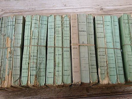 19th Century 19th C French Paperback Books