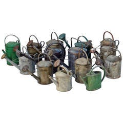 Vintage English Watering Cans