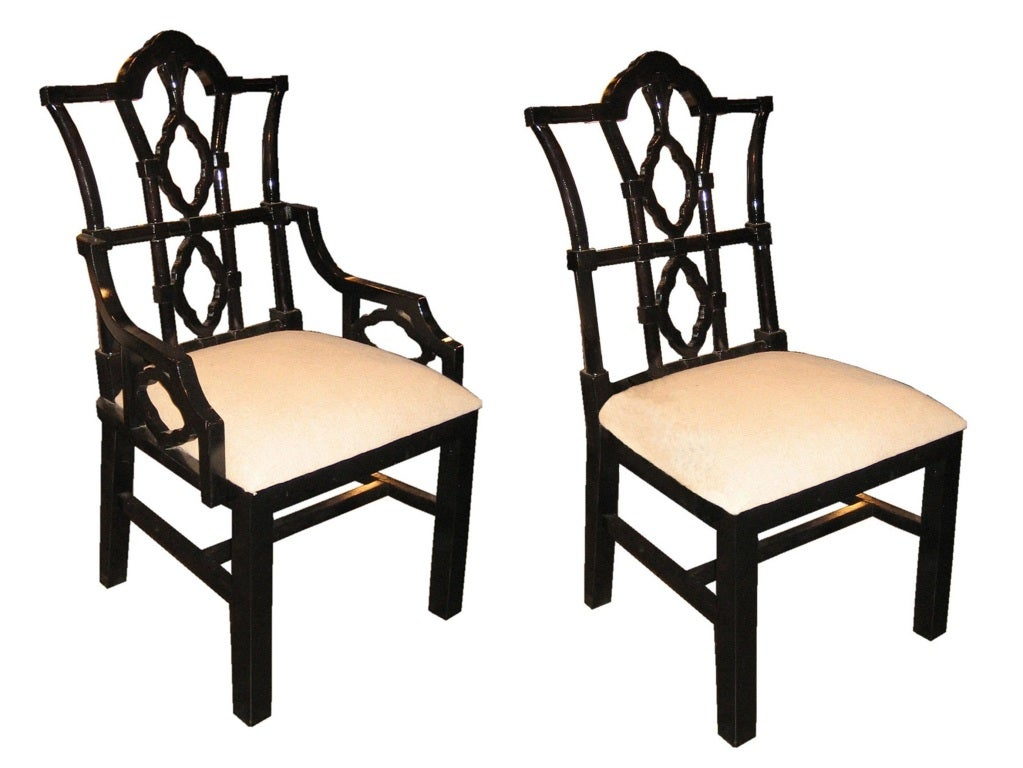 Ornate Wooden Dining Chairs 1