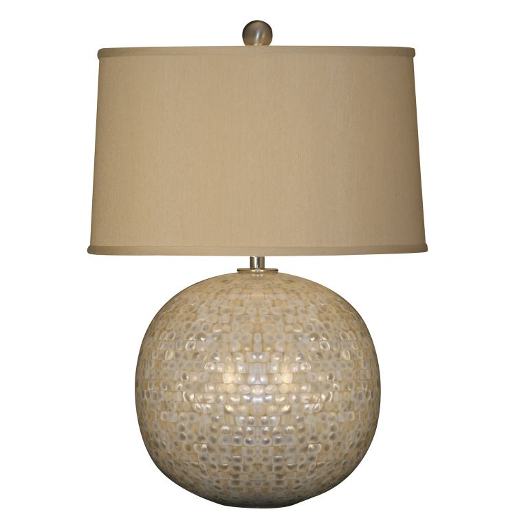mother of pearl lamp for sale at 1stdibs. Black Bedroom Furniture Sets. Home Design Ideas
