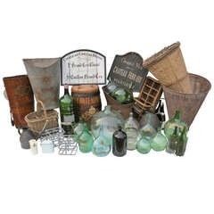 French Winemaking Memorabilia