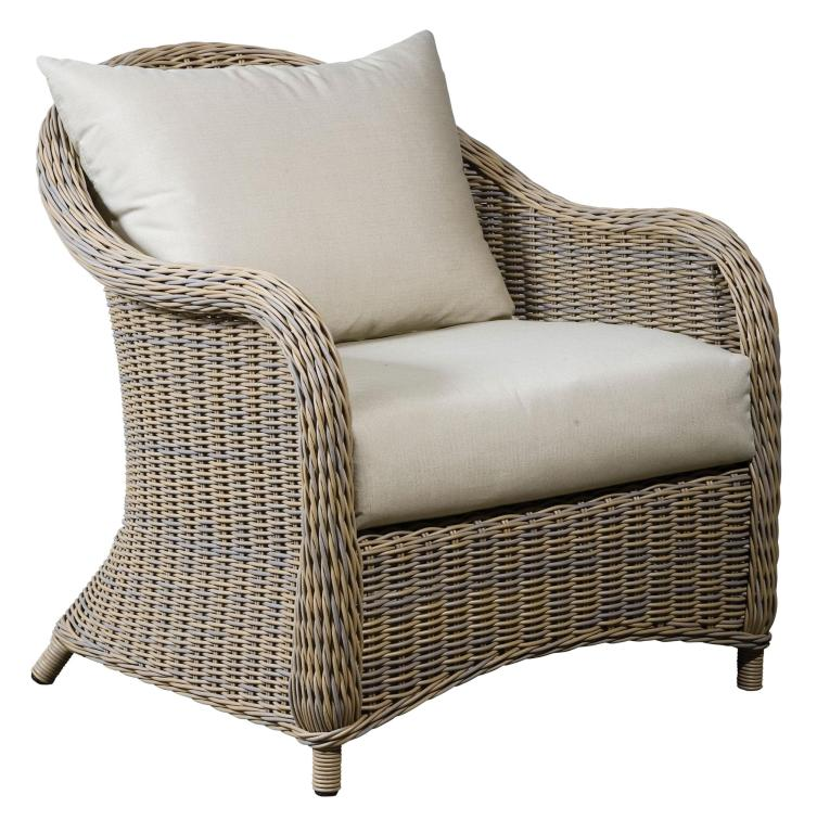 Outdoor Wicker Armchair For Sale at 1stdibs : 777913351238311 from www.1stdibs.com size 753 x 768 jpeg 85kB