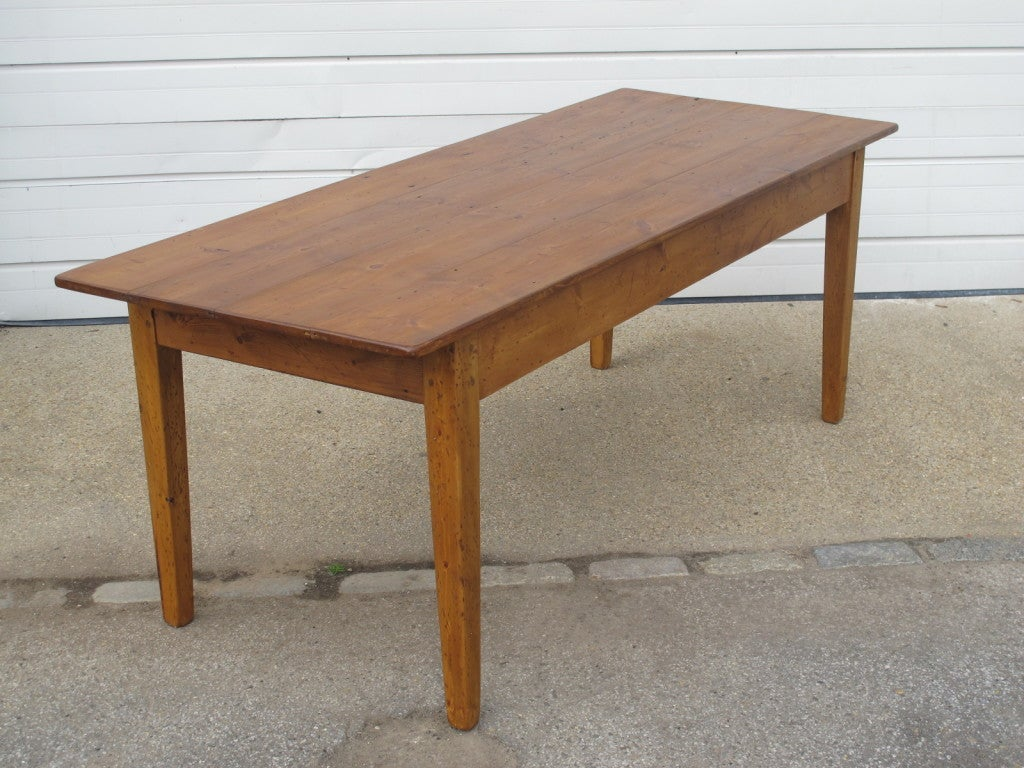 Reclaimed wood dining table for sale at 1stdibs - Wood dining table for sale ...