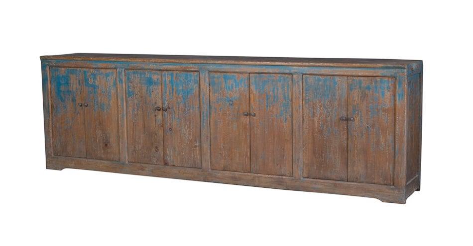 Long and Narrow Rustic Sideboard at 1stdibs