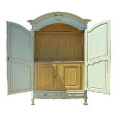 French 19th C Armoire