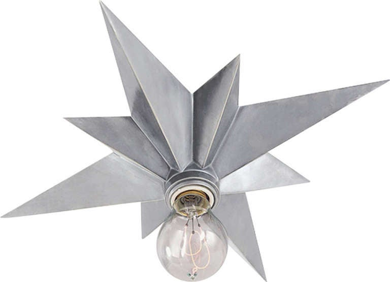 star flush mount for sale at 1stdibs