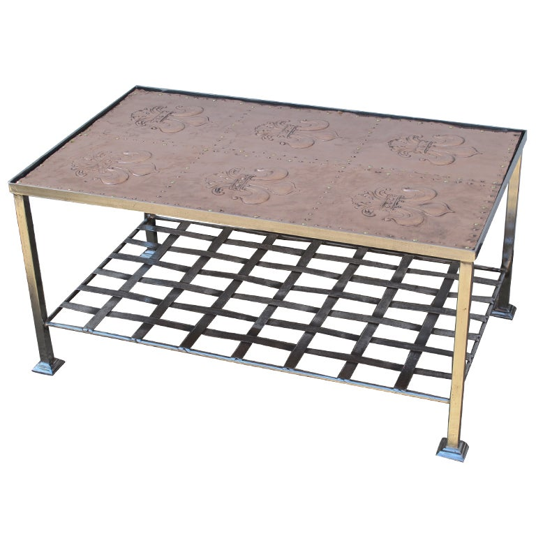 Iron Coffee Table For Sale