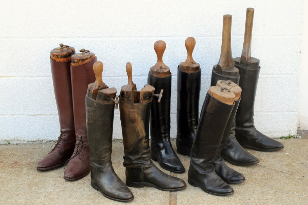 Vintage Riding Boots For Sale at 1stdibs
