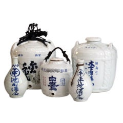 Japanese Saki Jars