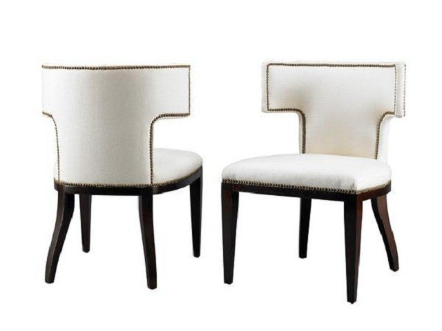 Curved t back dining chair for sale at 1stdibs for Modern dining t