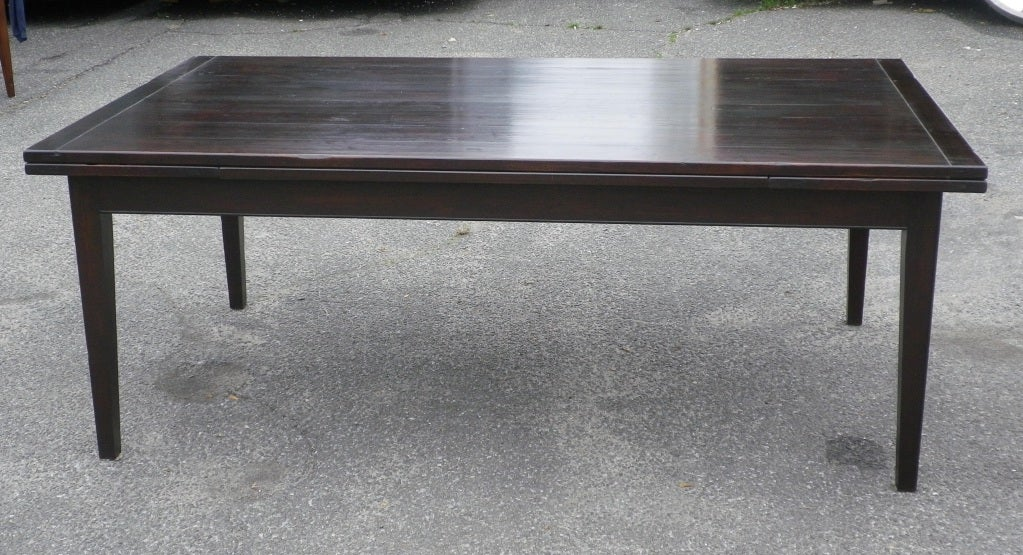 custom made dining table with extending leaves for sale at
