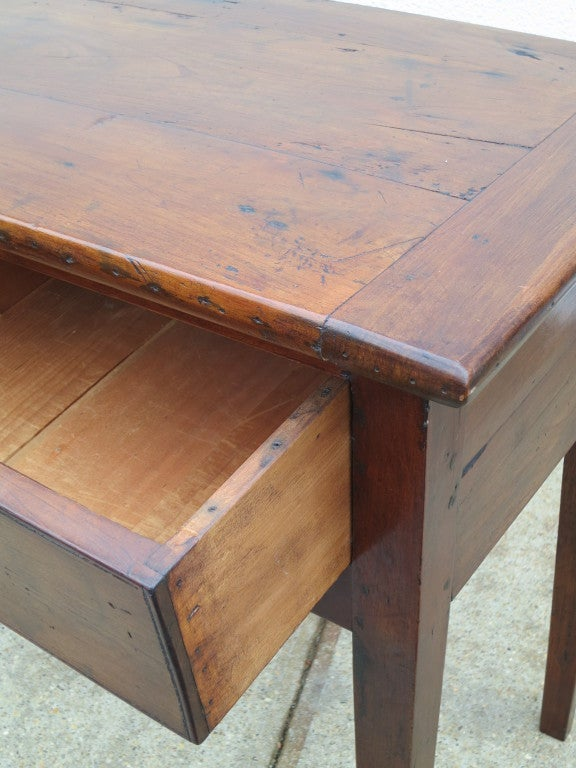 Country Elm Server, c 19th C For Sale