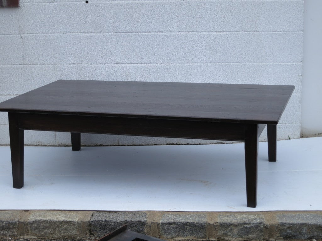 English Oak Coffee Table For Sale At 1stdibs