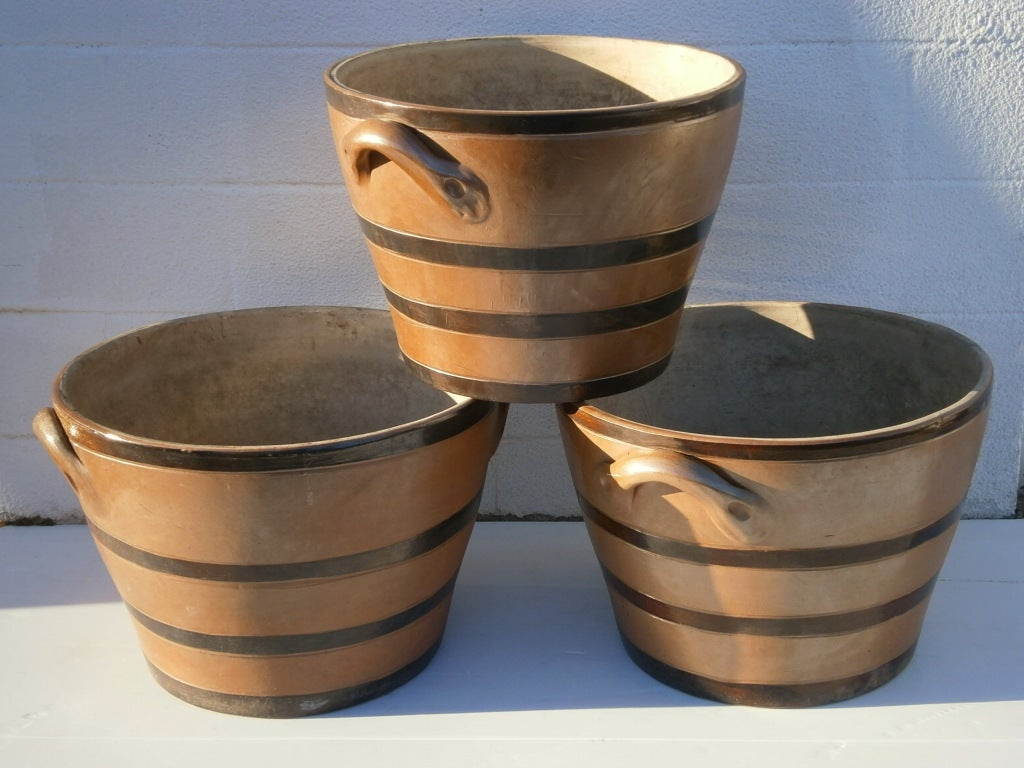 Large Earthenware Planters For Sale At 1stdibs