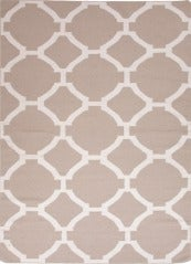 Grey Patterned Dhurrie