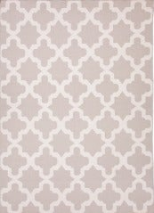 Grey Geometric Dhurrie