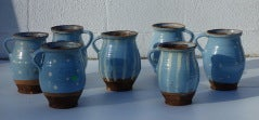 French Glazed Pots