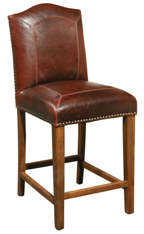 Leather Counter Stool For Sale At 1stdibs