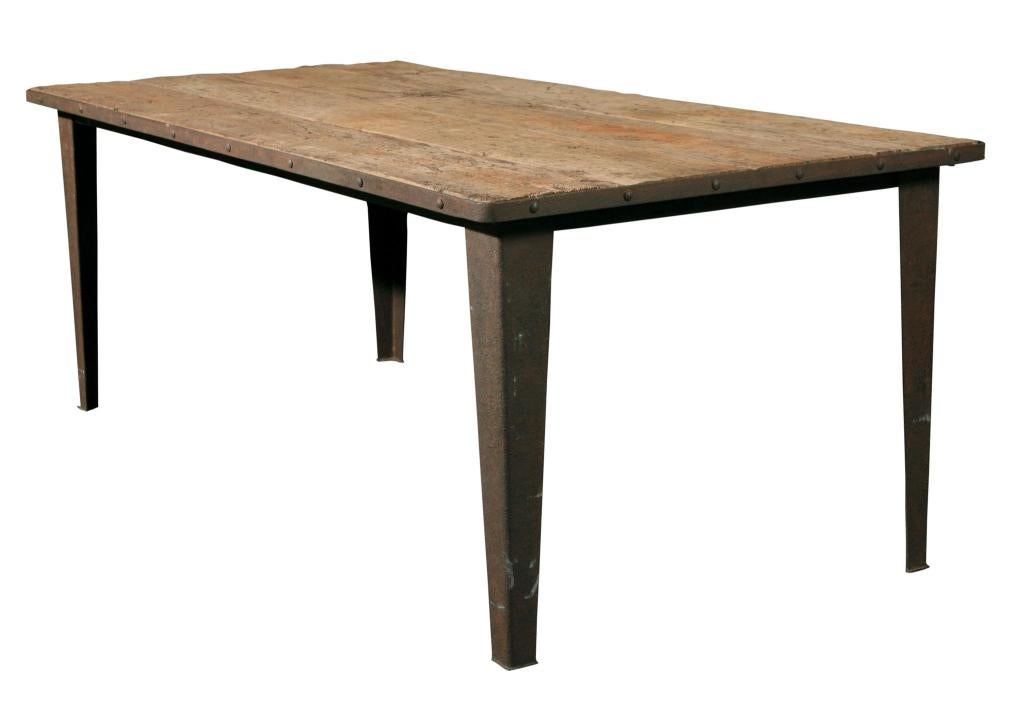 Reclaimed Elm Dining Table For Sale At 1stdibs