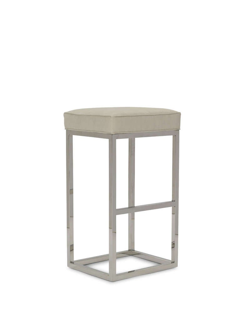 Simply Plush Counter Stool For Sale At 1stdibs