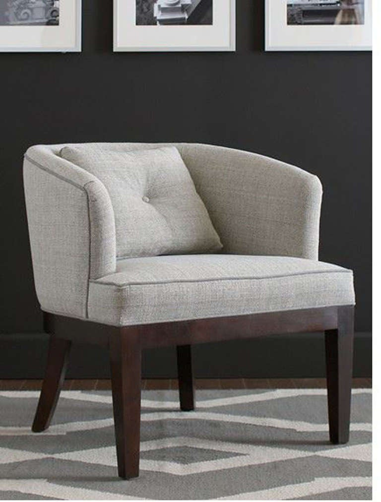Round Back Club Chair 1