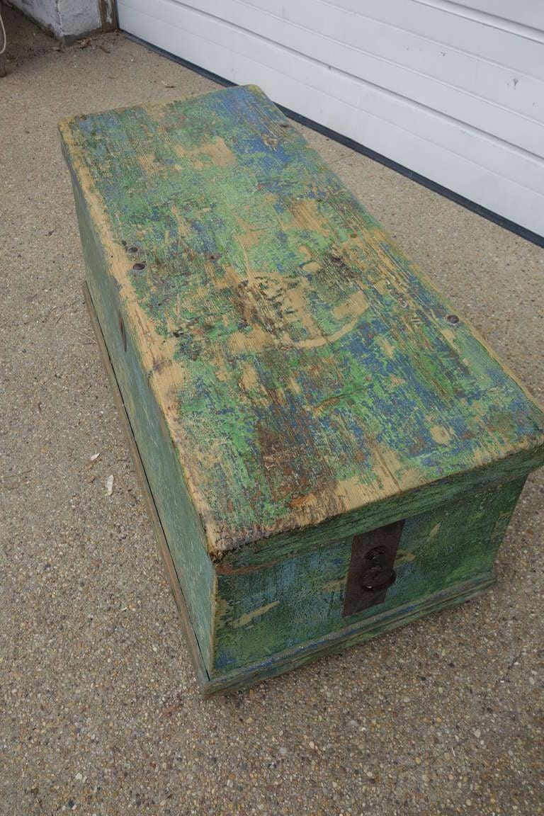 19th C Pine Trunk 5
