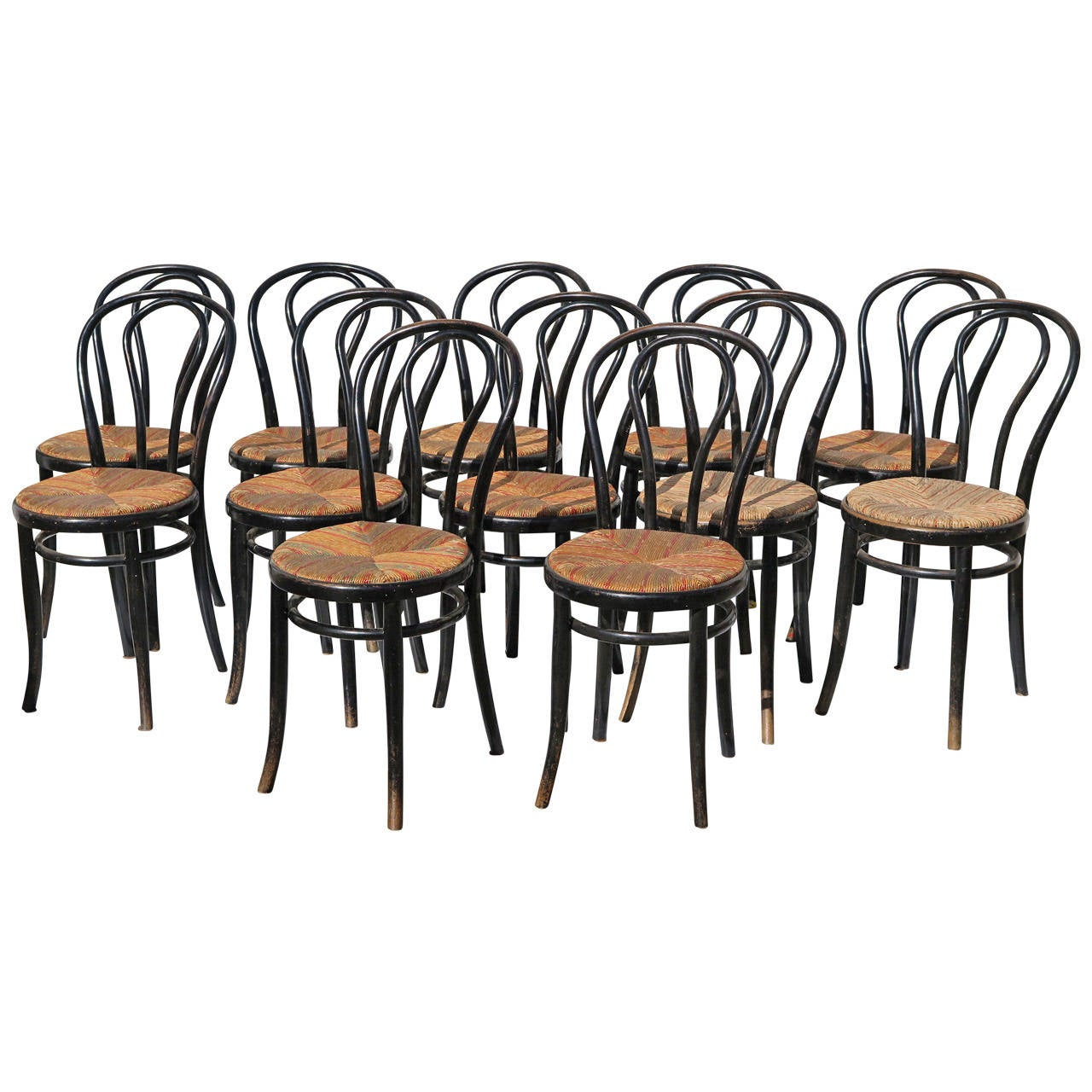 French Bistro Chairs SIX AVAILABLE For Sale at 1stdibs : 1427422l from www.1stdibs.com size 1280 x 1280 jpeg 158kB