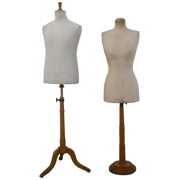 French Dressmakers Dummy For Sale at 1stdibs