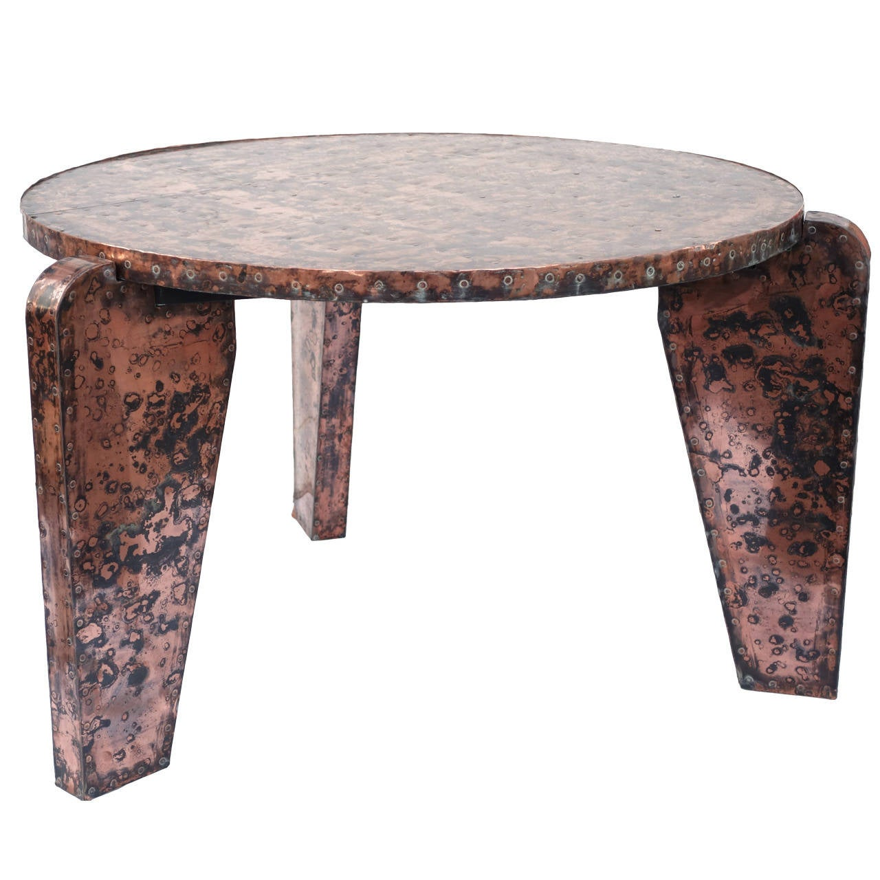 Unusual copper table for sale at 1stdibs for Unusual tables for sale