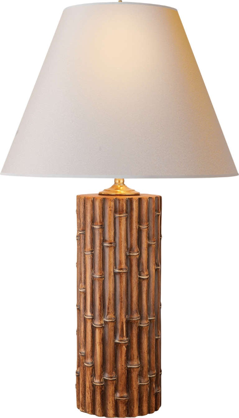 Faux Bamboo Table Lamp At 1stdibs