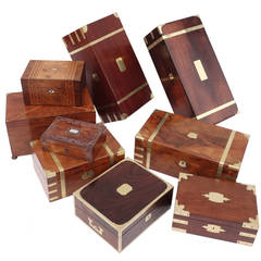 Document Boxes, Tea Caddies