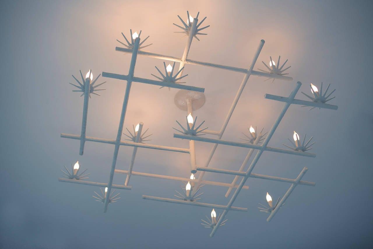 starburst chandelier for sale at 1stdibs. Black Bedroom Furniture Sets. Home Design Ideas